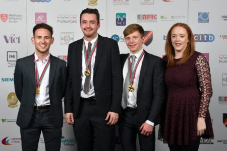 CMB apprentices win gold in UK skills competition