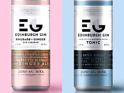 Edinburgh Gin unveils premium RTD cans