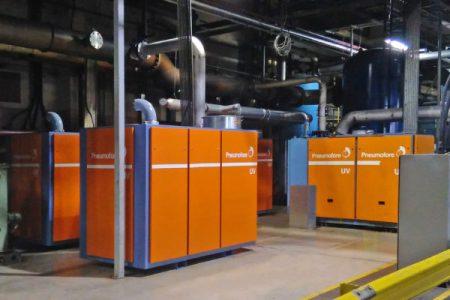 Vacuum upgrade at Ball UK