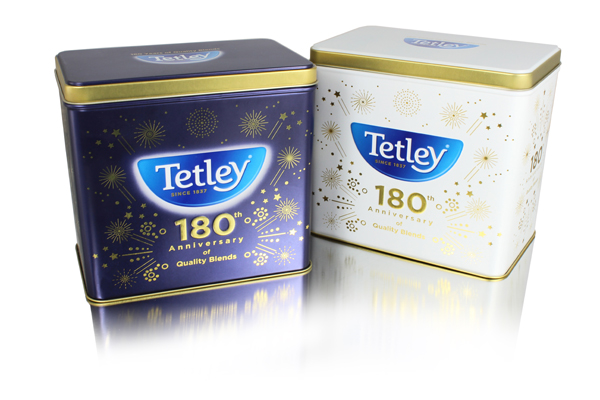 Tetley marks anniversary with Crown collaboration